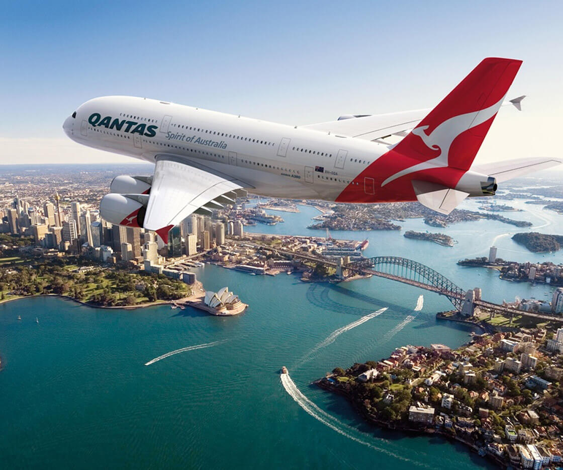 Link to Qantas Travel Insider website